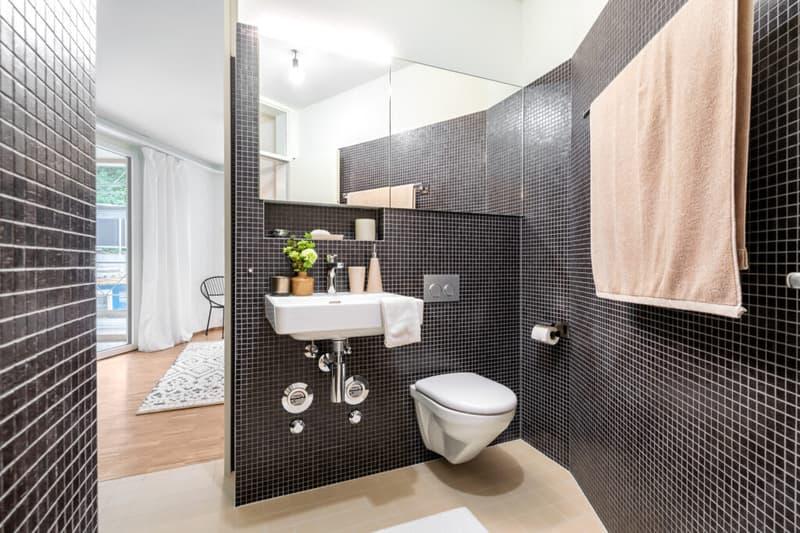Badezimmer Musterwohnung