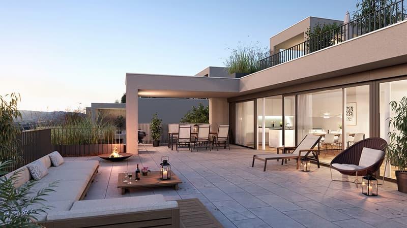 Attika-Maisonette-Terrassenwohnung an fantastischer Aussichtslage! (3)