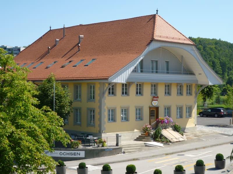 Gasthof «zum Ochsen» in Düdingen zu vermieten