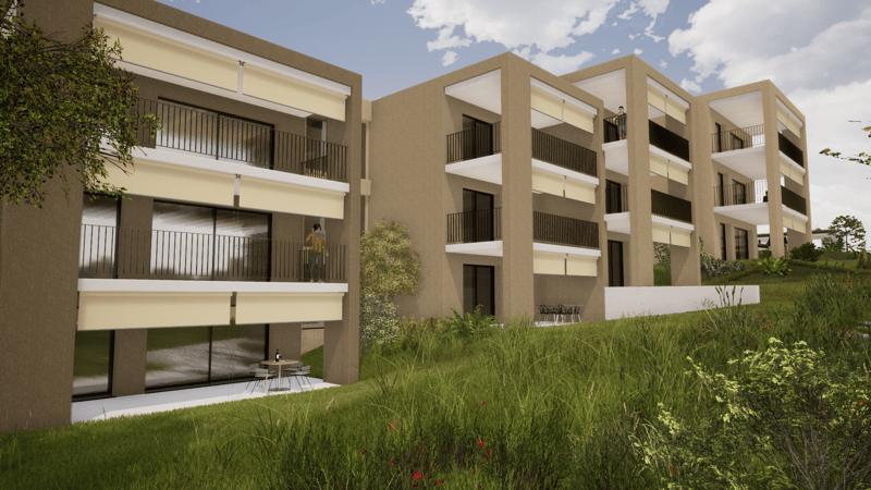 Magnifique projet à Vandoeuvres, 6 appts de 4-5 pieces, top location, superb new project, 4-5 rooms