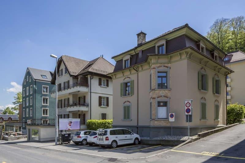 Abstellplatz an der Bernstrasse