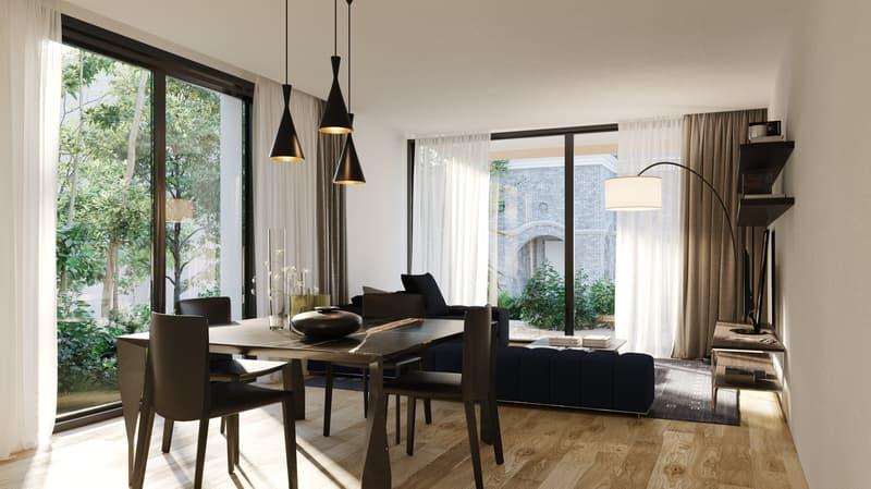 Massagno-Residenza Motta, luminoso attico 4.5 locali (4)