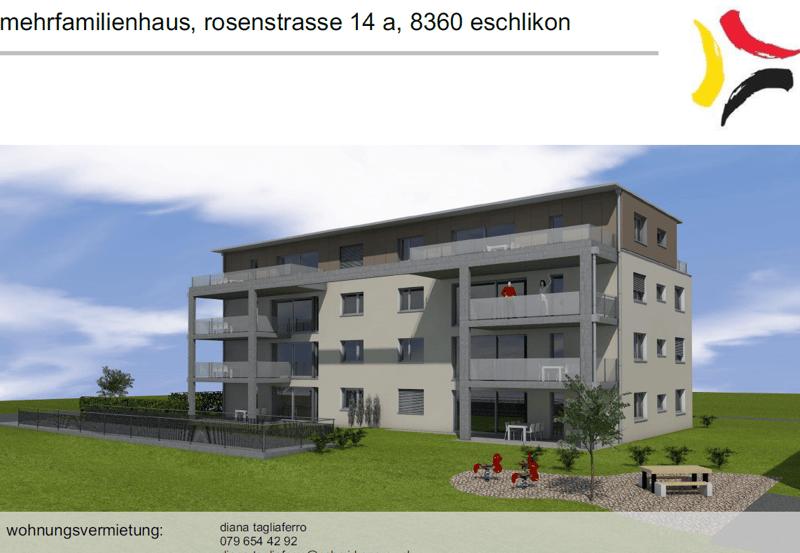 Helle, moderne 4.5 Zimmerparterrewohnung in Wohnquartier (1)