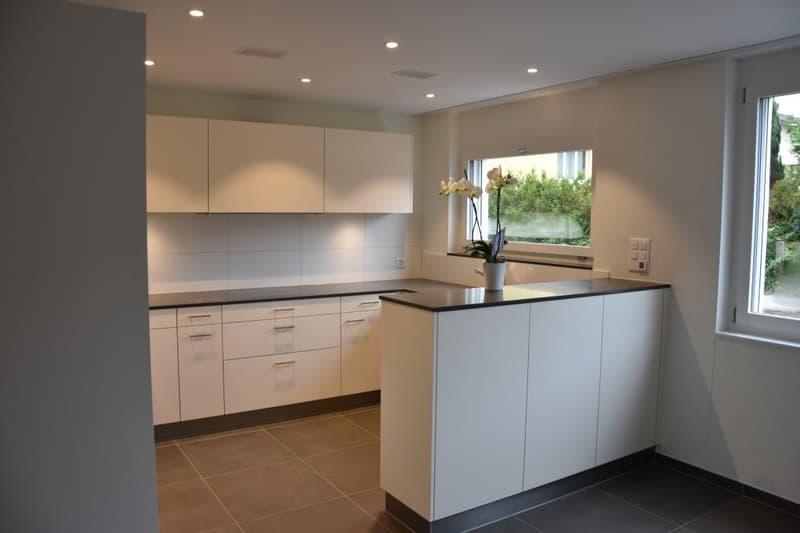 Helle, moderne 4.5 Zimmerparterrewohnung in Wohnquartier (3)