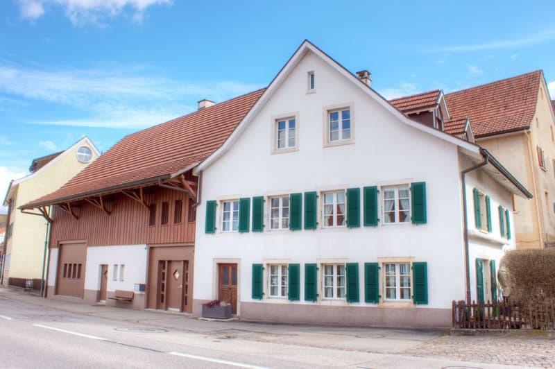 Traumhaftes 7-Zimmer-Bauernhaus mit Scheune und Werkstatt (1)