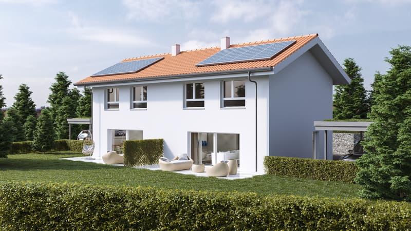 Nouveau projet immobilier à Arzier-le-Muids (Villa n°2)