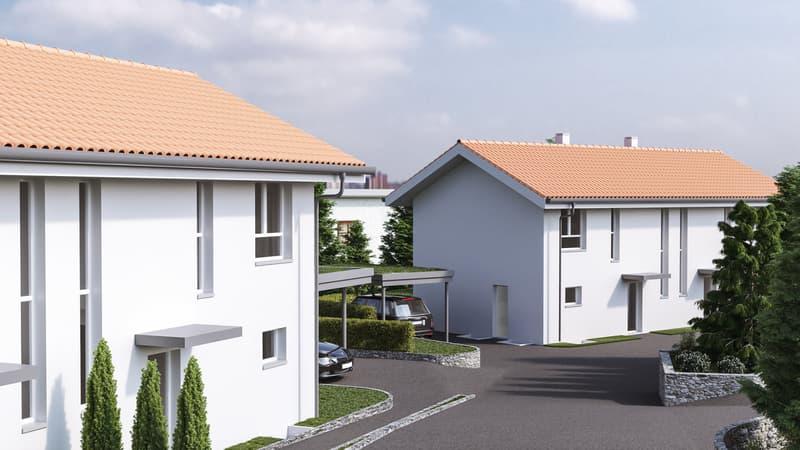 Nouveau projet immobilier à Arzier-le-Muids (Villa n°4)