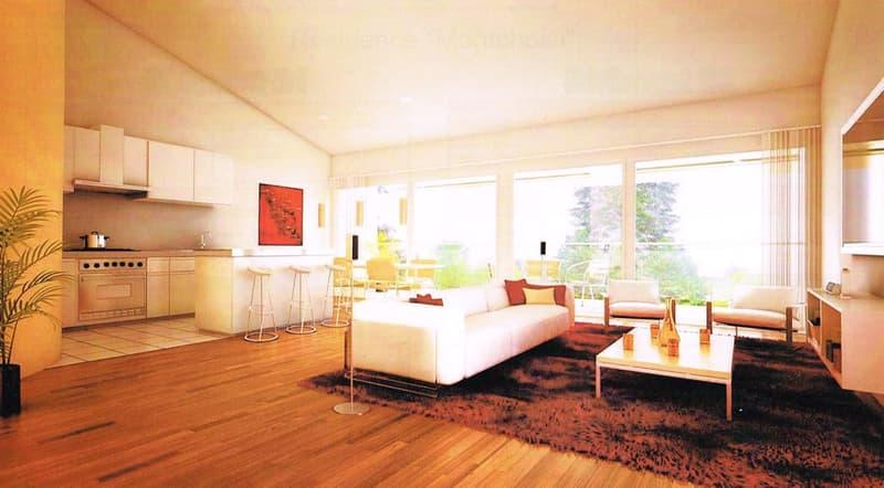 Appartement 3.5 pièces + mezzanine + bureau
