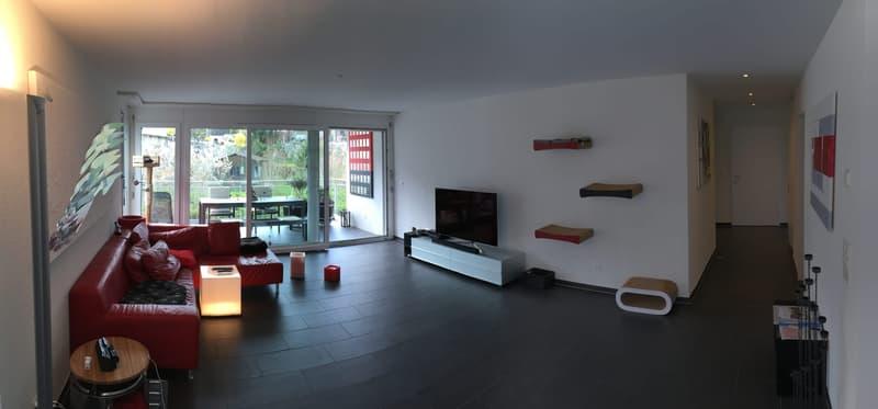 Helle 4.5 Zimmerwohnung an ruhiger Lage mit 2 Balkonen