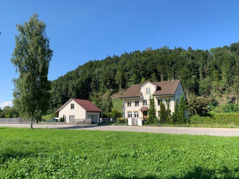 Wohnhaus zum Weier mit Atelier- und Garagengebäude