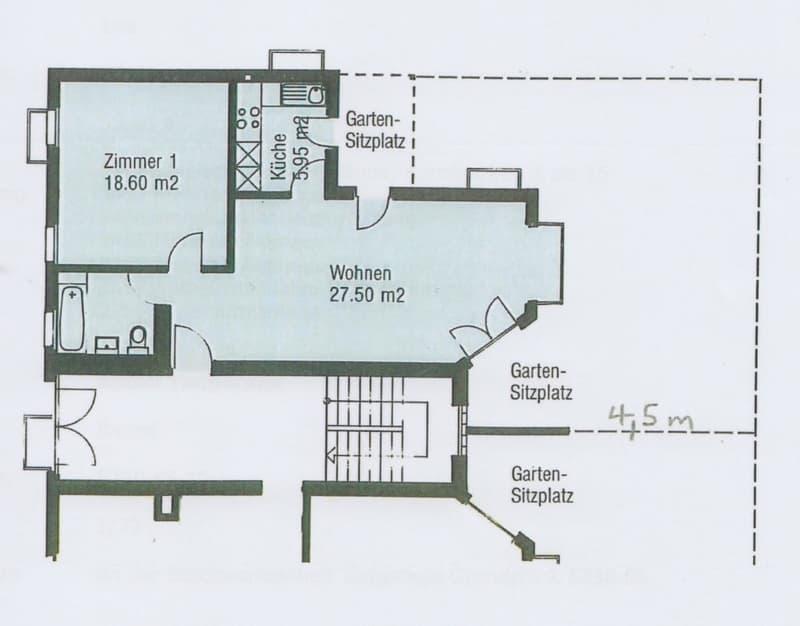 2.5 Zimmer Gartenwohnung (3)