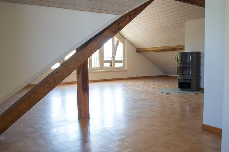 Grosszügige Dachwohnung mit einzigartigem Grundriss