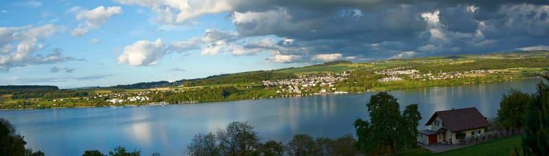Wohntraum mit wunderschöner See- und Alpensicht