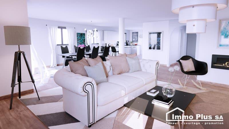 Appartement en duplex de 183m2