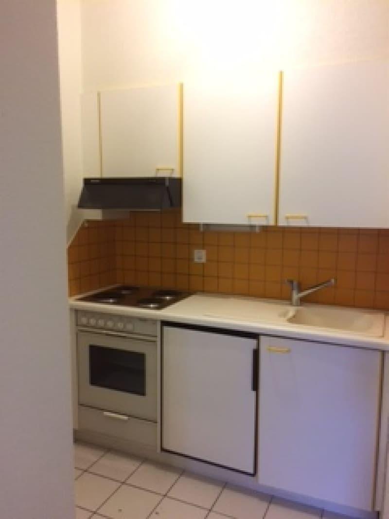Appartement de 1 pièce idéalement situé