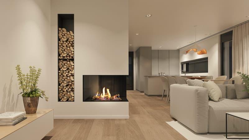 NOVA -Neubauprojekt: Stilvolles 6.5 Zi. Reihenmittelhaus mit Garten