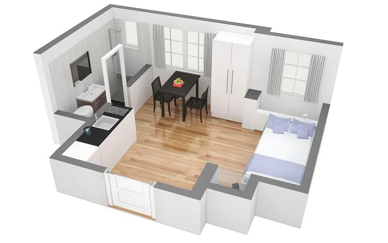 Komfortables und gemütlich eingerichtetes Apartment im Niederdorf