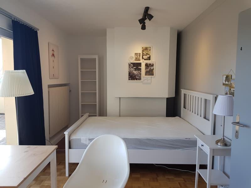 möblierte Zimmer in Attika-Geschoss