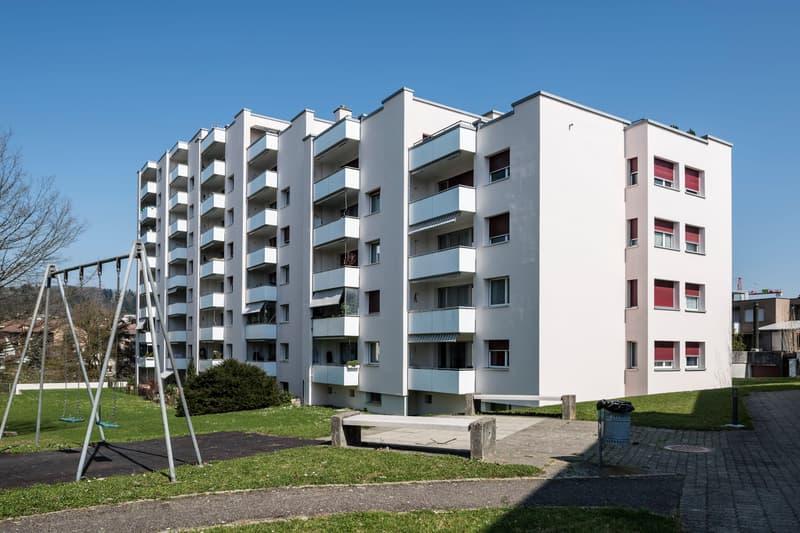 Schöne Wohnung in familienfreundlichen Quartier