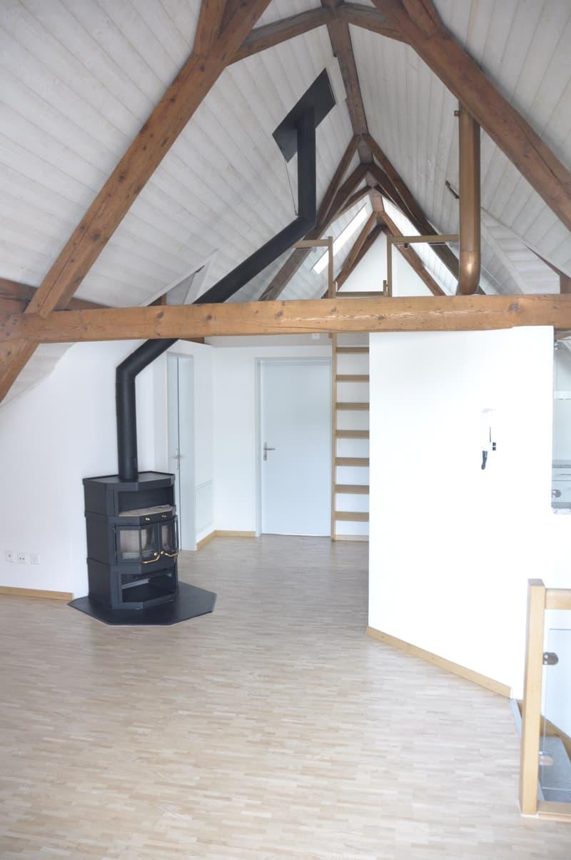 Schöne heimelige 3,5 Zi-Galerie-Dachwohnung in Maur