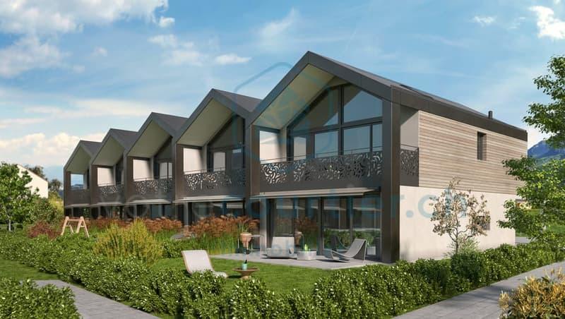 En construction, 15 spacieuses villas de 4.5 pces + disponible chauffé (2)