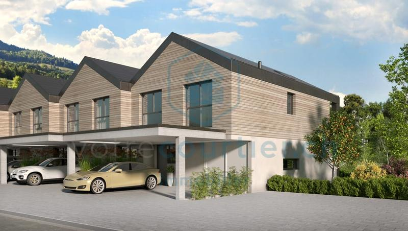 En construction, 15 spacieuses villas de 4.5 pces + disponible chauffé (3)