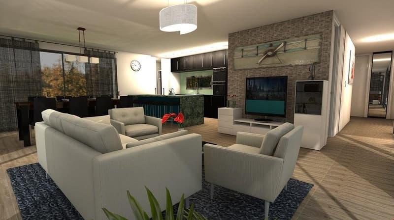 Leben im MFH AK2 Widen 4.5 Zimmer, 125 m²