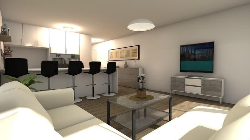 Neue stillgelegene 2 1/2 Wohnung mit Wintergarten (Erstvermietung)