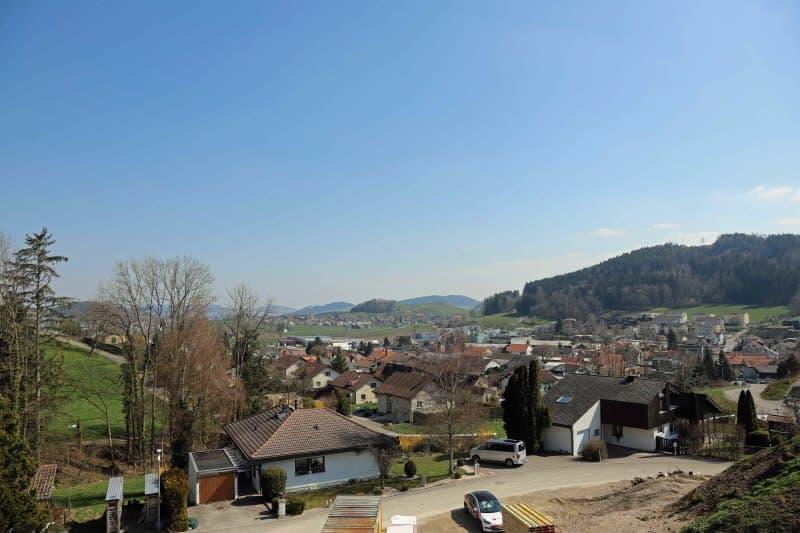Blick von Dach Haus 3
