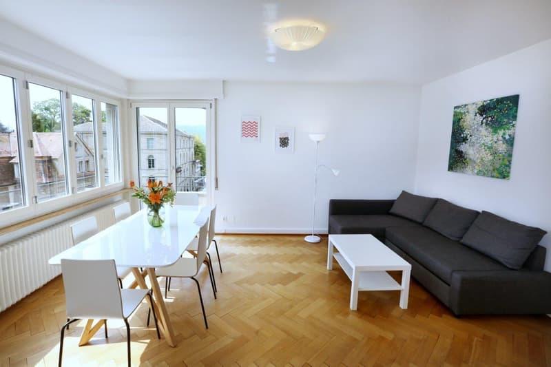 Möblierte Wohnungen 1.5 - 4.5 Zi - Tages-/Wochen-/Monatsbasis - Furnished Apts daily/weekly/monthly (1)