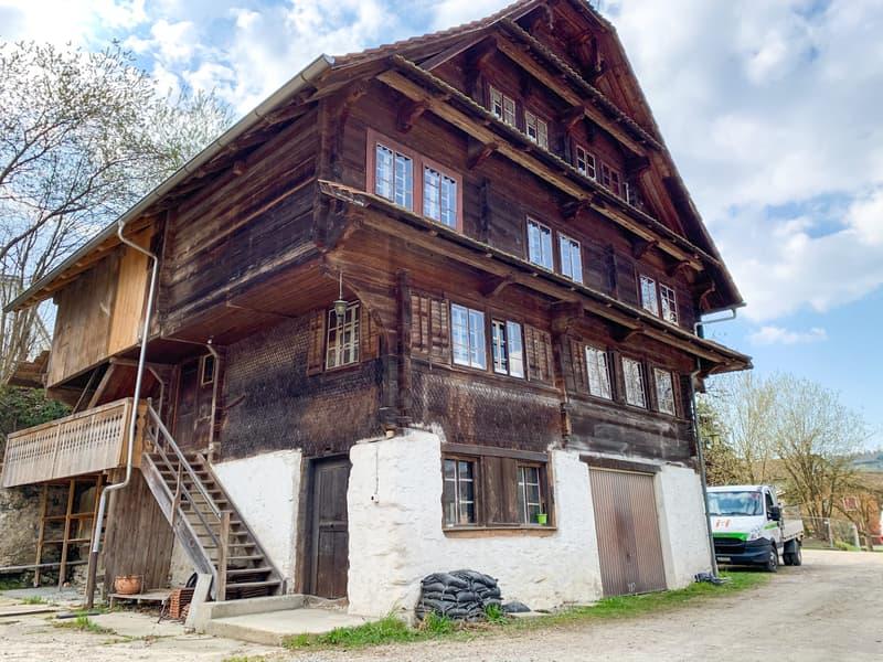 """Liebhaberobjekt """"Sagihof"""" an attraktiver Lage im Baurecht zu verkaufen"""