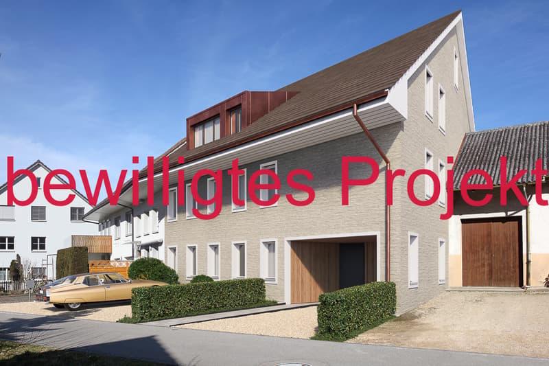 Bewilligtes Projekt im Fricktal mit 3 wunderschönen Wohnungen