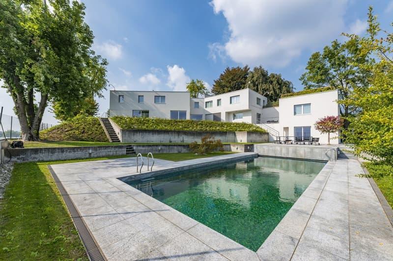 Prestigiosa villa d'architettura moderna