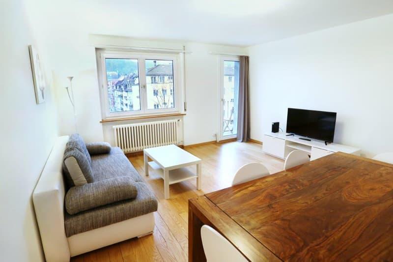 Möblierte Wohnungen 3.5 Zi - Tages-/Wochen-/Monatsbasis - Furnished Apts 2 Bdr -daily/weekly/monthly (3)