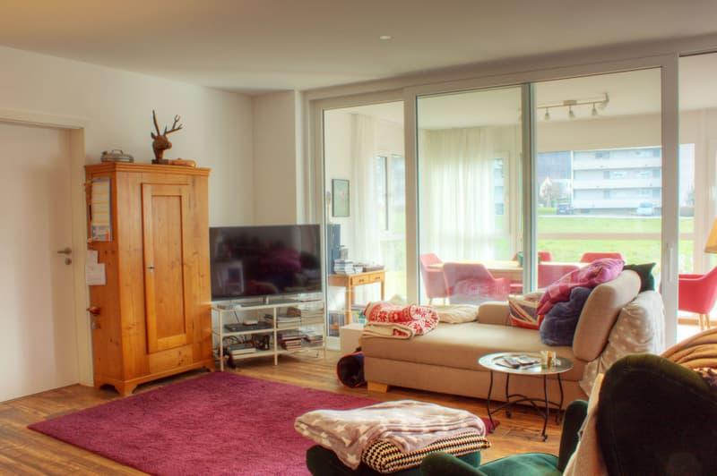 3.5-Zimmer-Gartenwohnung mit Wintergarten am Bach (3)