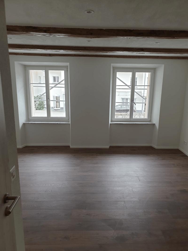 Erstbezug in eine neu renovierte 2 Zimmerwohnung