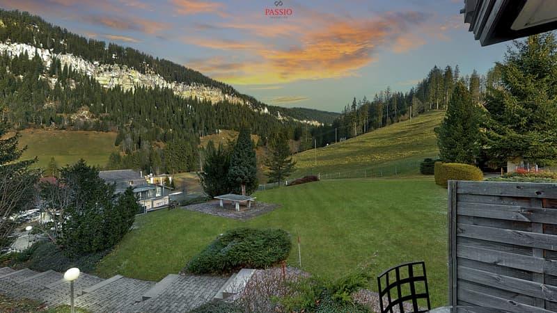Heimelige 2.5-Zimmer-Wohnung mit unverbaubarer Sicht auf die Berge