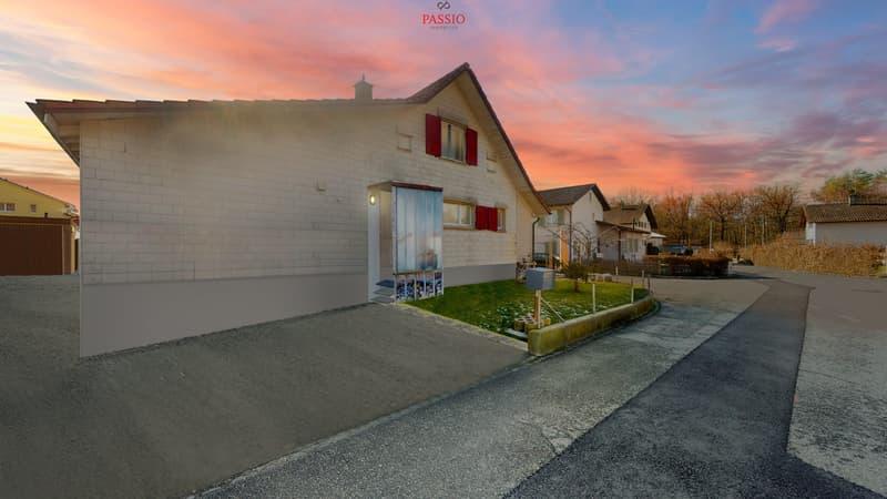 Zum renovieren: Perfektes Ein- oder Zweifamilienhaus mit Aussenpool