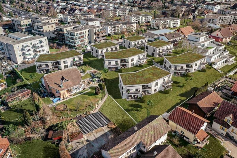 """""""Neubauprojekt Zilegg"""" mit 4 Reihen- und 3 Doppel Einfamilienhäusern"""