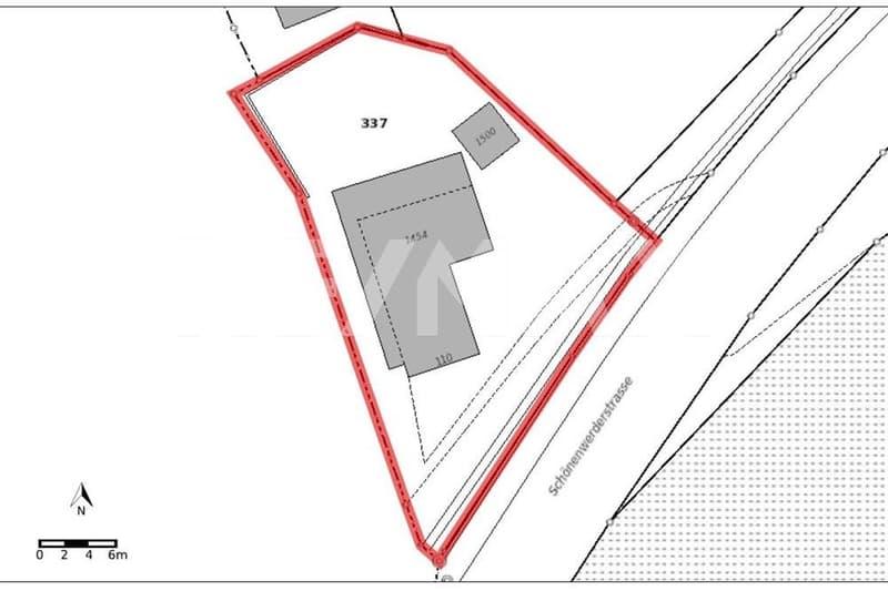 Interessantes Grundstück (688 m²) für Bauherren und Investoren.