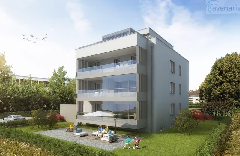 Letzte gehobene 4 1/2 Zimmer-WHG mit 300m2 Garten in Dreifamilienhaus (1)