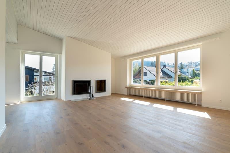 Besonntes, gemütliches 5.5 Zi-Einfamilienhaus per sofort zu vermieten (1)