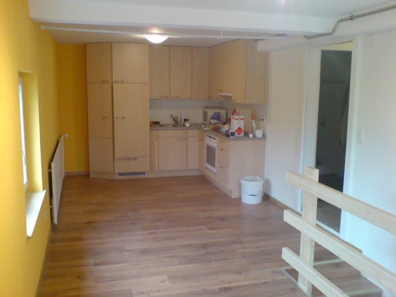 2-1/2 Zimmerwohnung- Ideal für Handwerker oder Künstler. Auch für ruhig Gewerbe geeignet+Parkplatz ! (2)