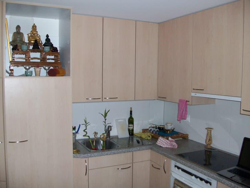 2-1/2 Zimmerwohnung- Ideal für Handwerker oder Künstler. Auch für ruhig Gewerbe geeignet+Parkplatz ! (3)