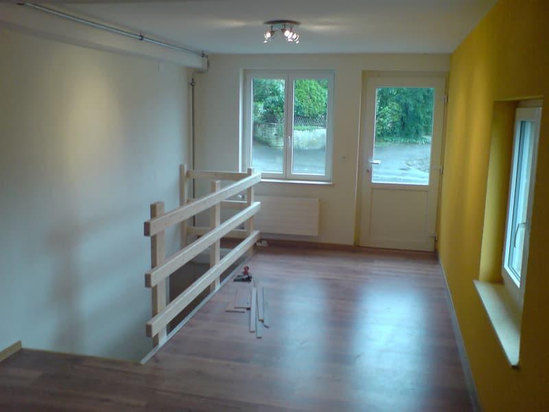 2-1/2 Zimmerwohnung- Ideal für Handwerker oder Künstler. Auch für ruhig Gewerbe geeignet+Parkplatz ! (4)