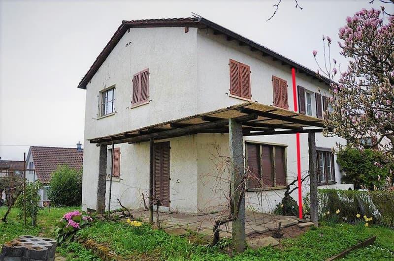 Einseitig angebautes 4-Zimmer-Einfamilienhaus