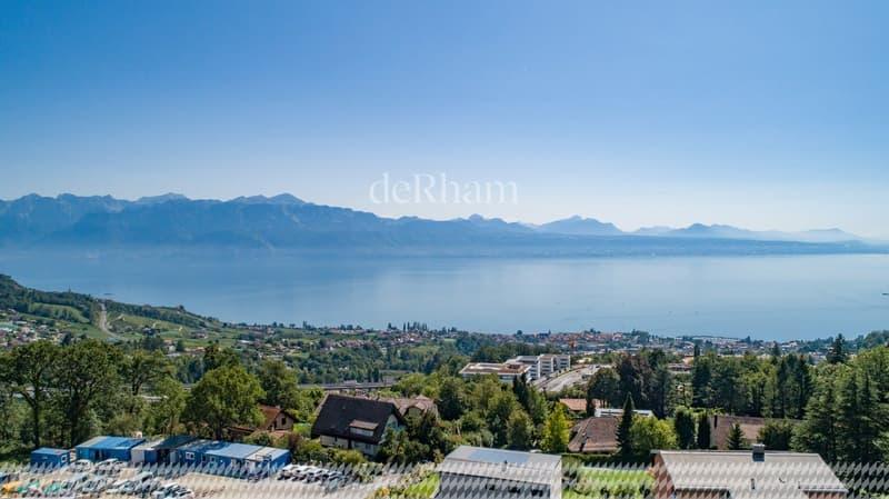 Belle villa de 8,5 pièces avec vue totale sur le lac et les Alpes (1)