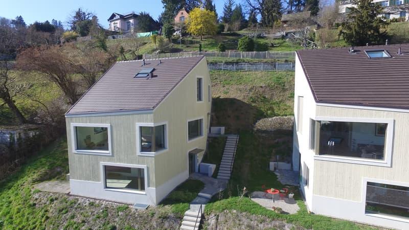 Modernes Zwei-Familienhaus mit Loft-Charakter an fantastischer Lage