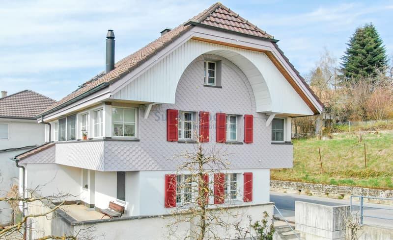 Schönstes 5.5-Zimmer Einfamilienhaus in Albligen