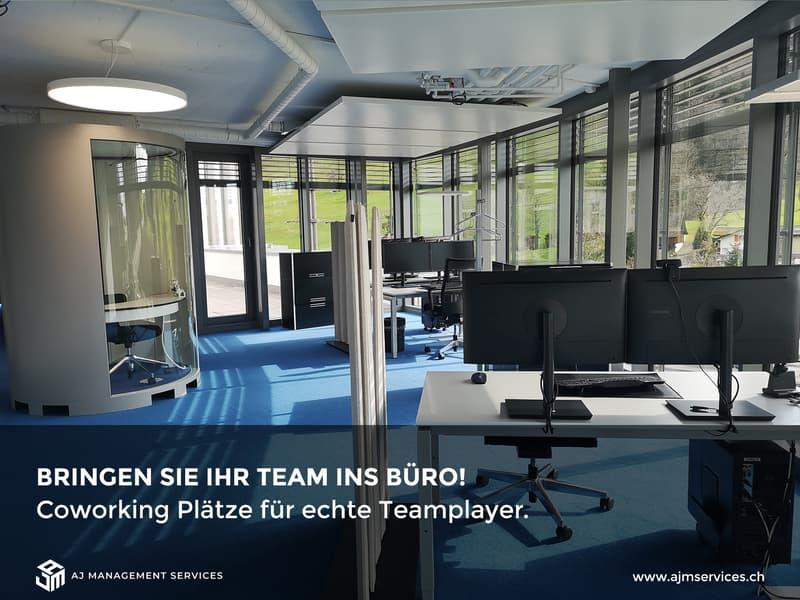 Bringen Sie Ihr Team ins Büro!